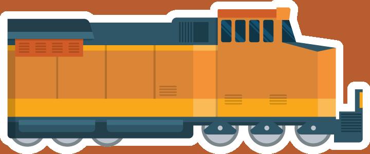 Freight Rail Icon